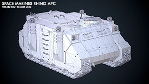 Space Marines Rhino APC 1