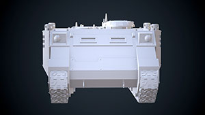 Space Marines Rhino APC 2
