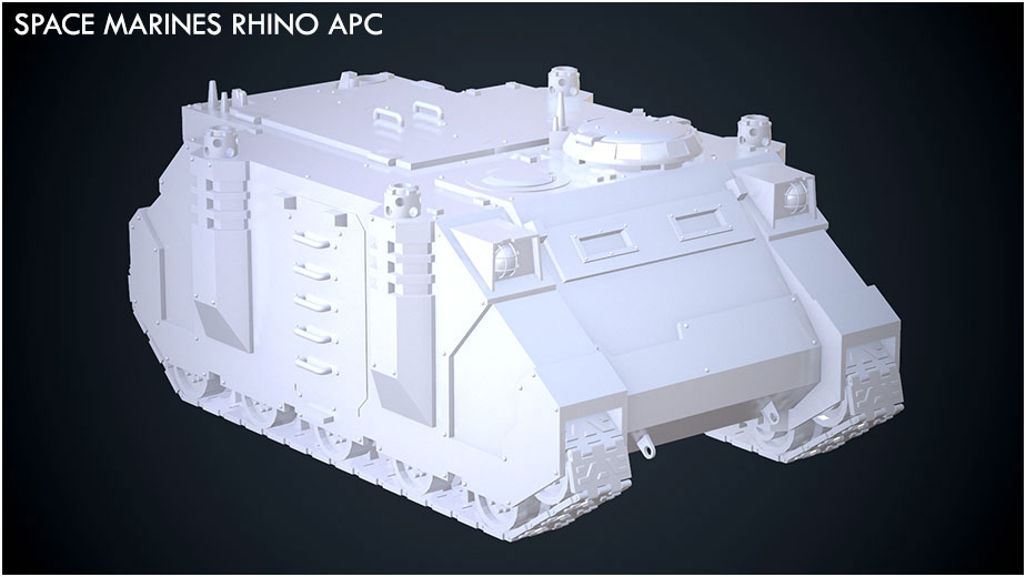 Space Marines Rhino APC Main